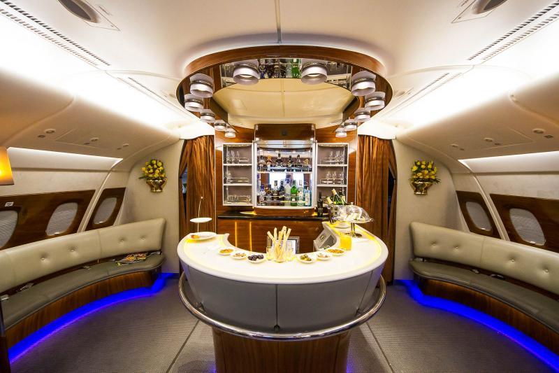 <p>Airbus A380 Bar</p>