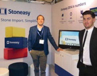 Stoneasy at the Natural Stone Show, London