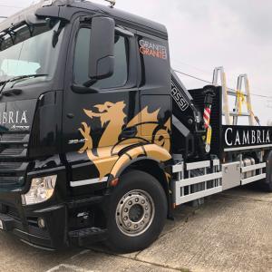 Cambria lorry
