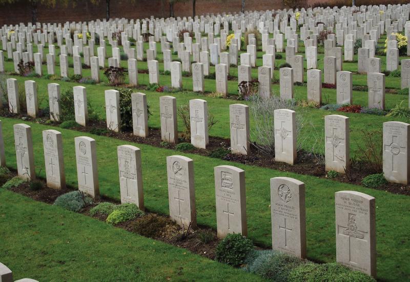 War garves cemetery