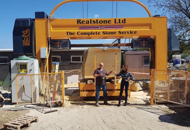 Realstone relaunch