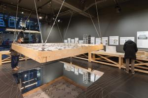 New Stone Age exhibition at the Building Centre, London