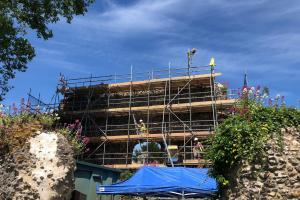 Cliveden Conservation at Reading Abbey ruins