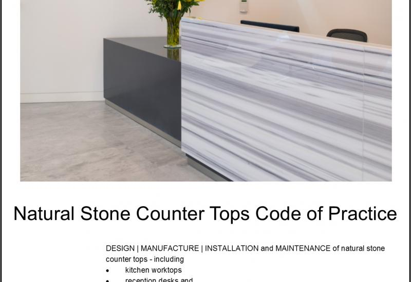 New Code of Practice for worktops