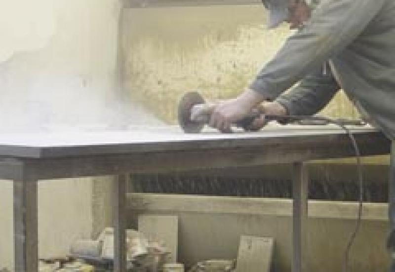 cutting quartz