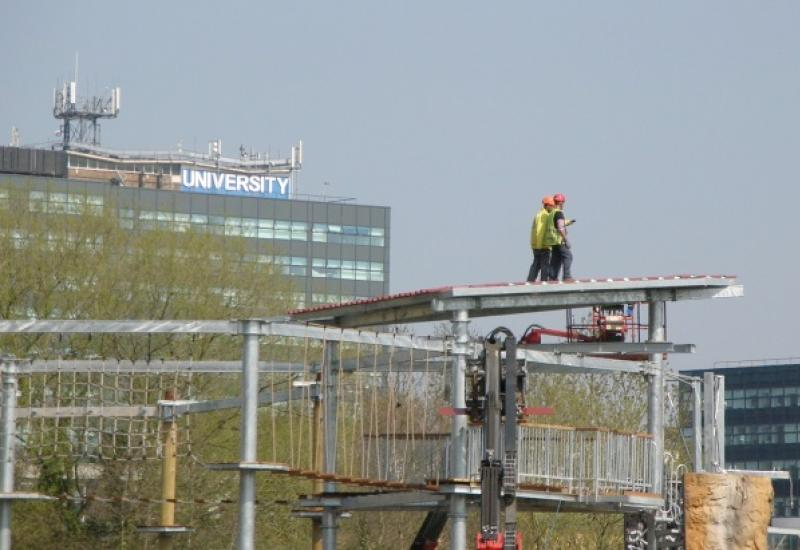 Work at height violation