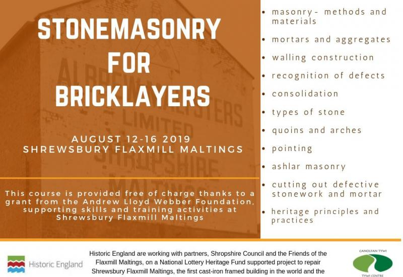 stonemasonry for bricklayers