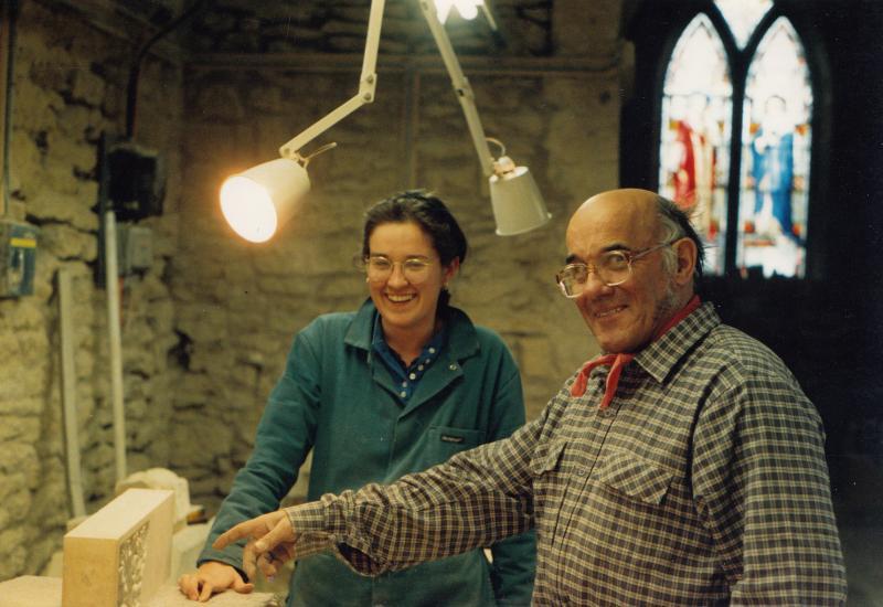John Green and Antonia Hockton