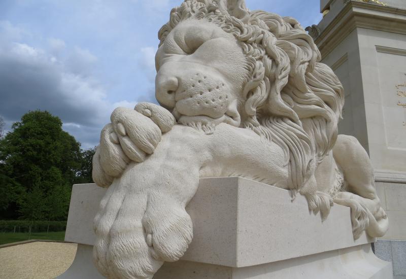 Canova's lions