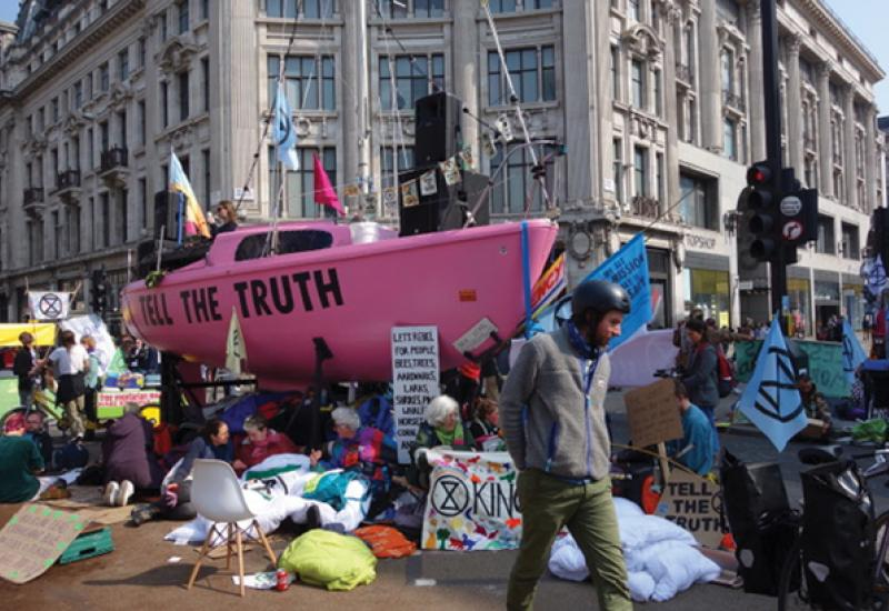 Extinction rebellion and natural stone