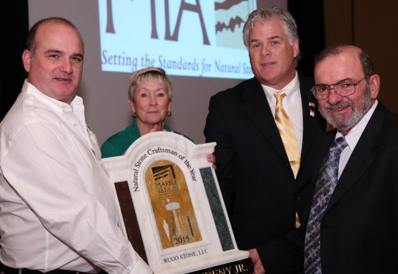 Regis Studeny receives award