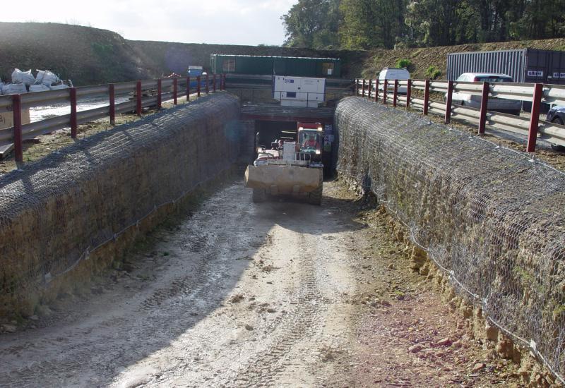 Park Lane underground quarry