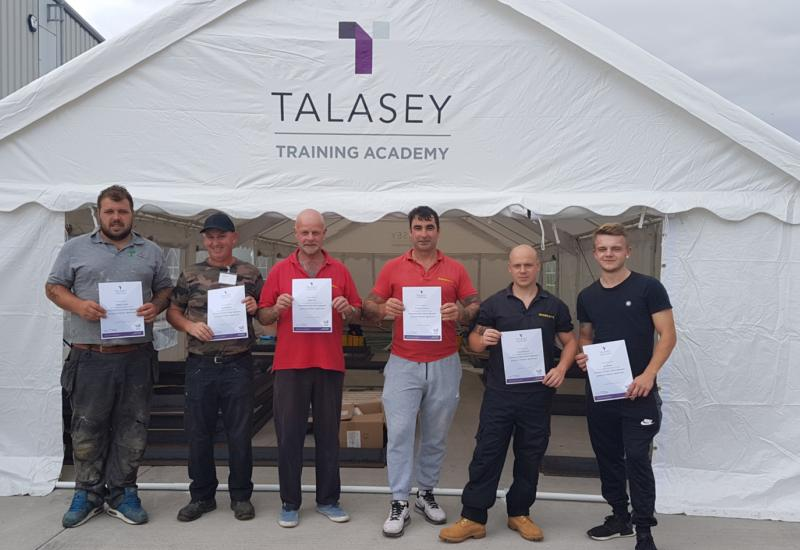 Talasey trainees