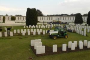 Tyne Cot Cemetery near Ypres