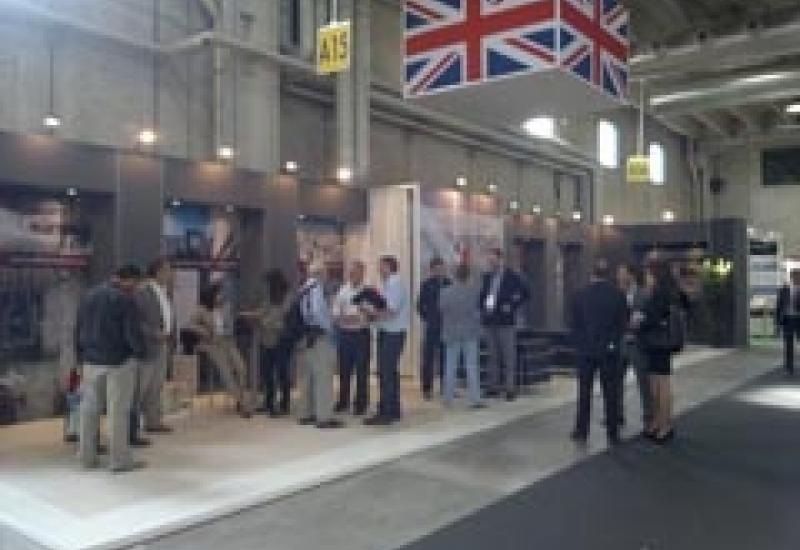 Three British stone producers exhibited at Marmomacc in Verona: Albion, Burlington and Forest of Dean Stone Firms.