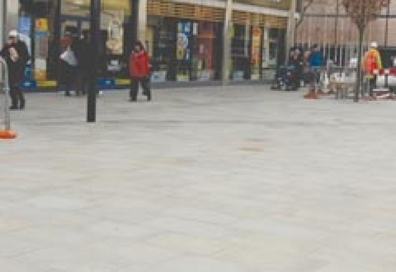 Forest Pennant paving selected by Arup in Swindon.
