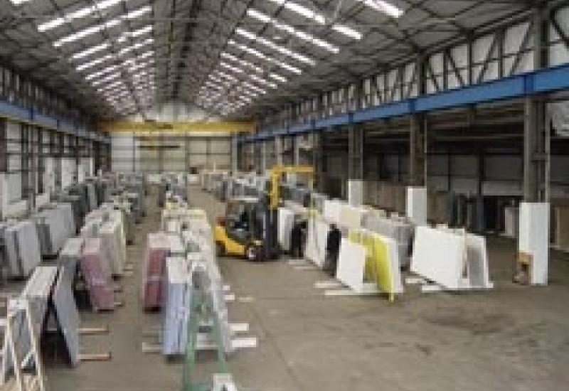 The new warehouse opened by B-Stone.