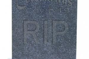 Covid-19 headstone