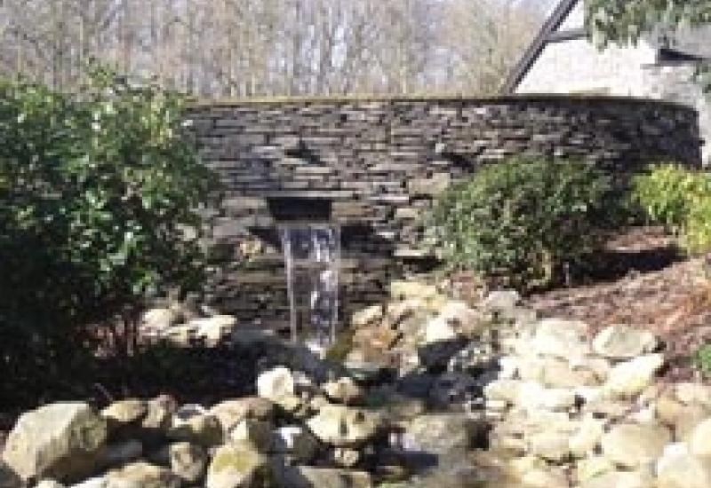 Part of the Pinnacle Award-winning garden.