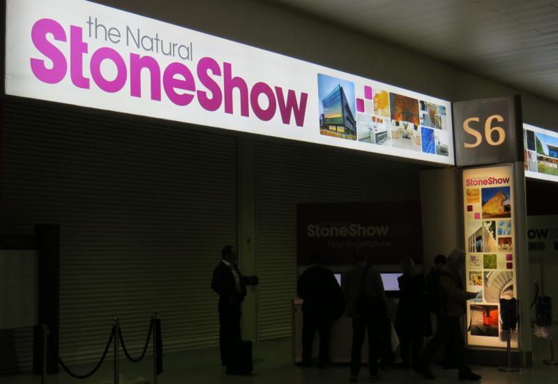 Stone Show entrance