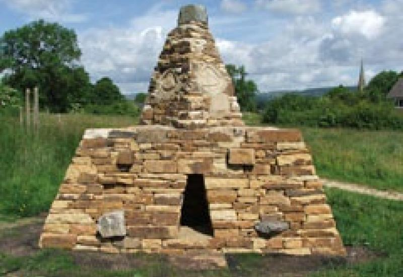 Ewan Allinson's Pyramid in Teesdale – part art, part playground equipment and with a story to tell.