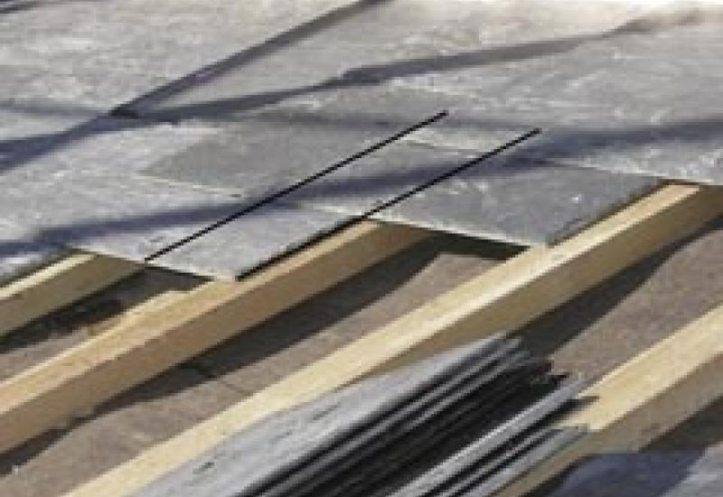 Slate makes the ideal roofing material but is also a great all round building material.