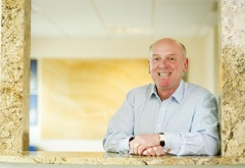 Fred Jones – supporting customers with a 10-year warranty on worktops.