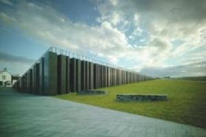 The new Visitor Centre at the Giants Causeway in Northern Ireland. Photograph: Marie-Louise Halpenny.