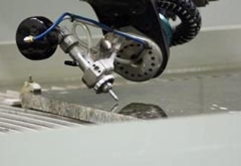 The Intermac waterjet cutter, the Primus, will be among the company's machines on show at Marmomacc in Verona.