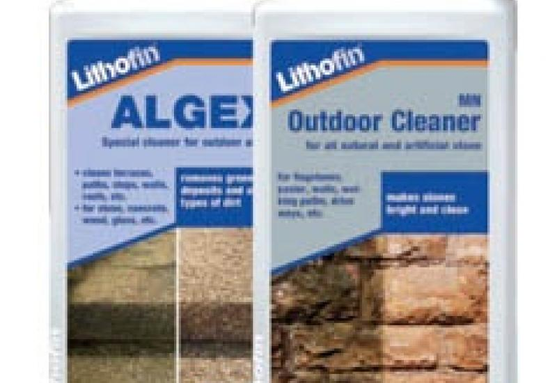 Lithofin cleaning products for interior and exterior stonework.