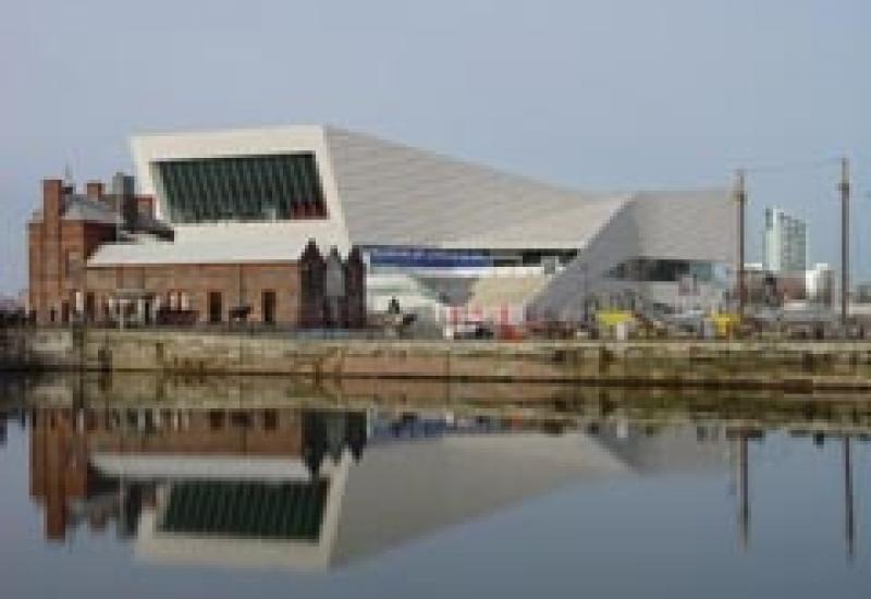 The new Museum of Liverpool.