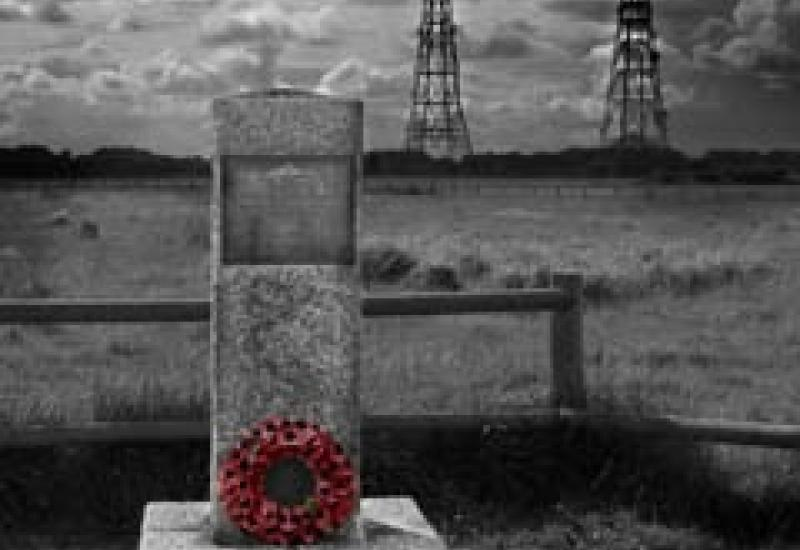David Stearne's winning photograph in the Memorial Awareness Board competition.