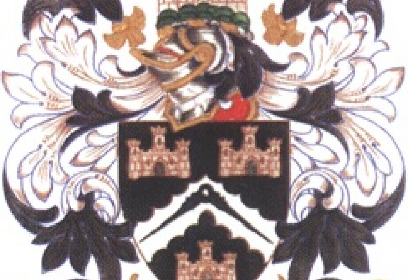 Use the Masons Company coat of arms to create a distinctive mason's mark for the Company and win £250.