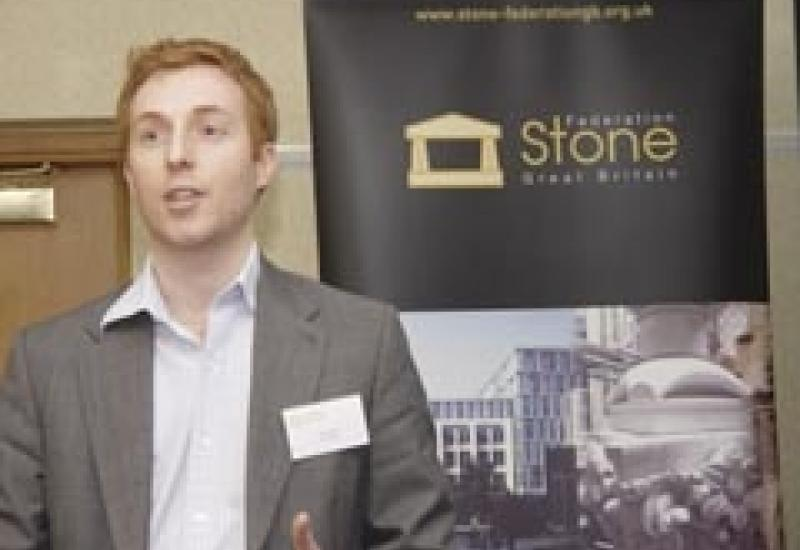 Nick Baker, talking at the Stone federation annual meeting about ethical trading.
