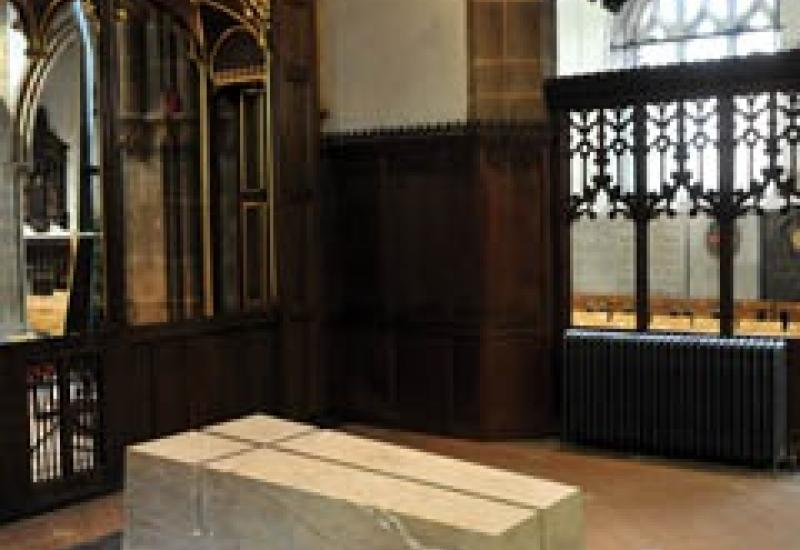 The new final resting place of King Richard III.