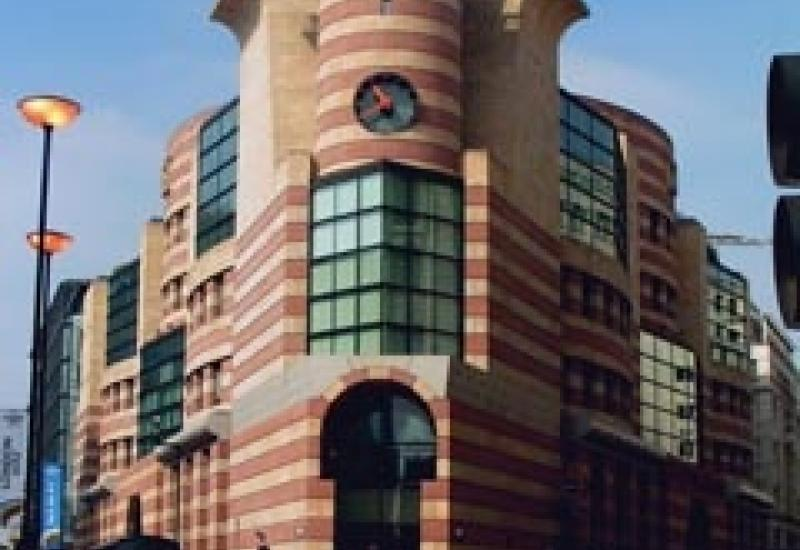 No1 Poultry in the City of London has a most striking use of sandstone in its design.