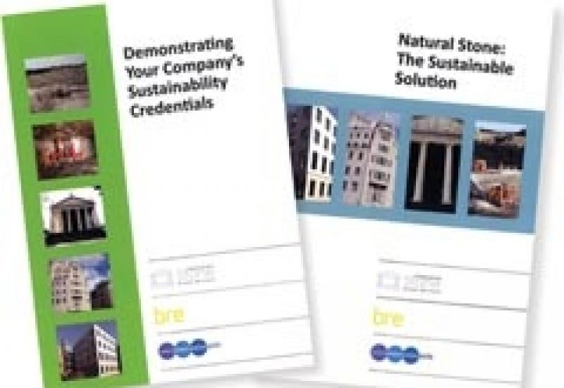 New publications from Stone Federation to help you through the Sustainability maze.