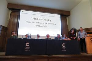Traditional Roofs conference