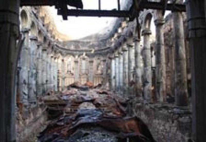 St Mel's after the fire.