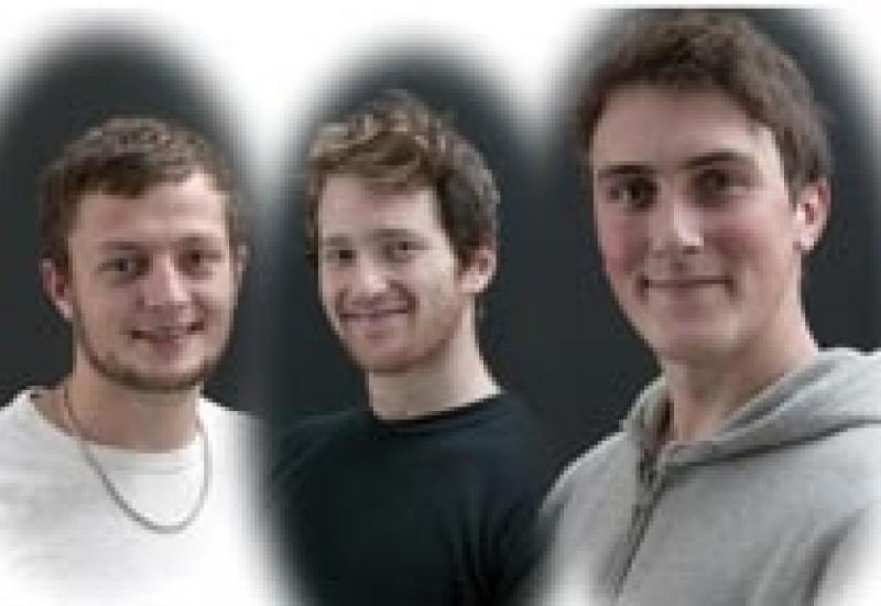 Hoping to represent stonemasonry on the WorldSkills Team UK are (L-R) Chris Berridge, Alex Boyd and Thomas Whitehead.