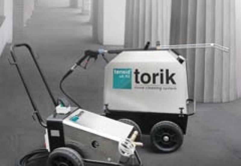 Tensid's Torik superheaterd water and steam cleaner.