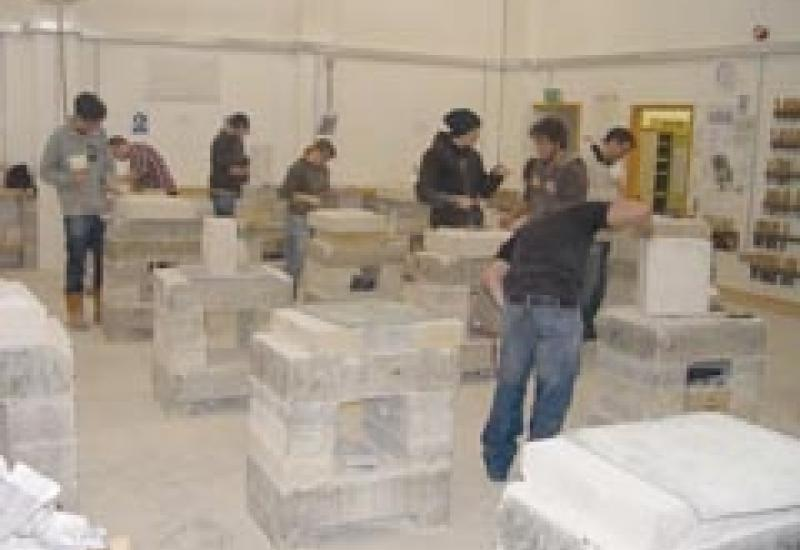 Training for the stone industry offers the promise of an interesting career ahead.