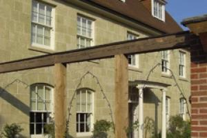 The house that architect Phillip Proctor has just built using Shaftesbury Greenstone from Melbury Stone.