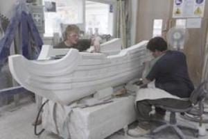 Stonemasonry at the Building Crafts College.