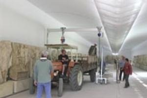 Reliefs conserved in the latest phase of work are being displayed in a special annex to the site museum.