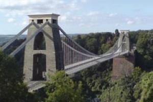 Clifton Suspension Bridge. Photo taken by Bridge Master David Anderson.