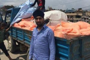 Help Bobby Singh return to Nepal with £50,000 to help earthquake victims by donating at WeAreOneNepal.org