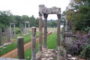 The Leptis Magna ruins are standing again in Windsor Great Park thanks to PAYE.