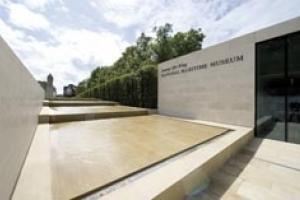The new Sammy Ofer Wing of the National Maritime Museum, Greenwich – a mixture of building and landscape.