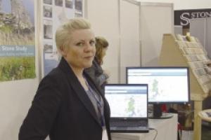 Tarnia McAlester, who heads the Strategic Stone Study.